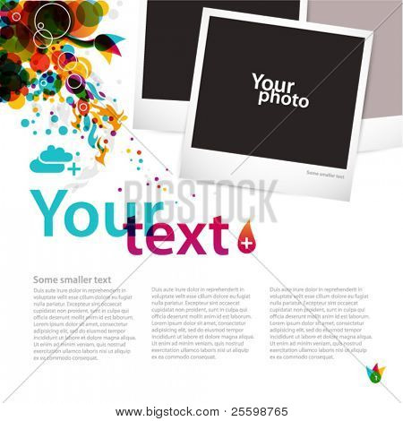 creative graphic layout
