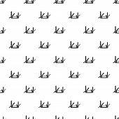 Multifunction knife pattern. Simple illustration of multifunction knife pattern for web poster