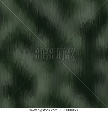 Blurred Vector Camouflage Blend Texture. Variegated Mottled Background. Seamless Camo Pattern. Moder
