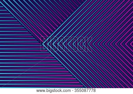 Fantastic Background Of Diagonal Lines. Modern Bright Background Of Lines With Gradient