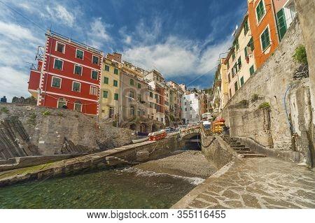 Resort Village Riomaggiore, Cinque Terre, Liguria, Italy