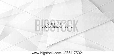 Halftone Modern Gray Vector Background. Grain Pattern. Halftone Wallpaper. Pop Art Dots Light Textur