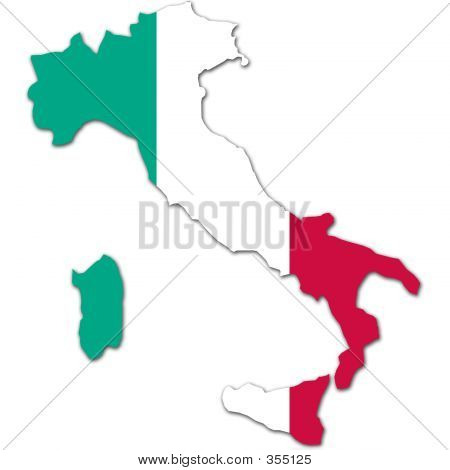 Italia Kartta Kuva Ja Valokuva Ilmainen Kokeilu Bigstock