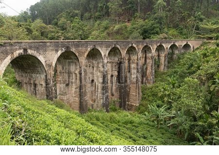 The Nine Arch Bridge Also Called The Bridge In The Sky.it Is A Viaduct Bridge And One Of The Best Co