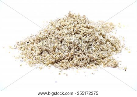 Coriander Seed Isolated Pile Of Coriander Seed