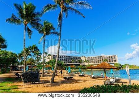 Turtle Bay Resort In Kahuku, Oahu, Hawaii