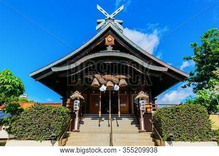 Izumo Taishakyo Mission In Honolulu, Oahu, Hawaii