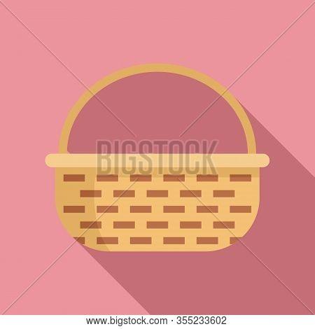 Decoration Wicker Icon. Flat Illustration Of Decoration Wicker Vector Icon For Web Design