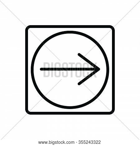 Black Line Icon For Implication Conclusion Connotation Indication Meaning Ramification Significance