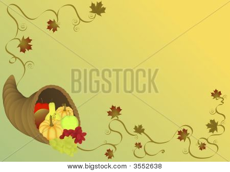 Cornucopia Illustration