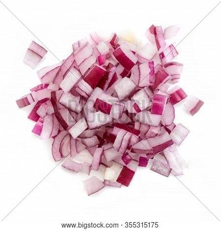 Chopped Red Onion Into A Small Dice