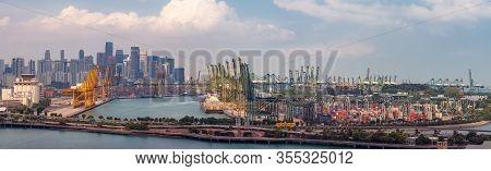 Singapore International Port Hub, Singapore City Landscape