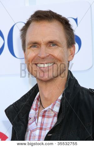 LOS ANGELES - JUL 29:  Phil Keoghan arrives at the CBS, CW, and Showtime 2012 Summer TCA party at Beverly Hilton Hotel Adjacent Parking Lot on July 29, 2012 in Beverly Hills, CA