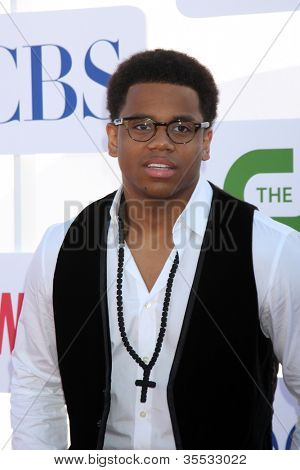 LOS ANGELES - JUL 29:  Tristan Wilds arrives at the CBS, CW, and Showtime 2012 Summer TCA party at Beverly Hilton Hotel Adjacent Parking Lot on July 29, 2012 in Beverly Hills, CA