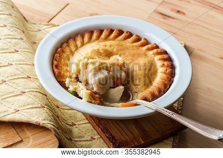 Baked Chicken Potpie