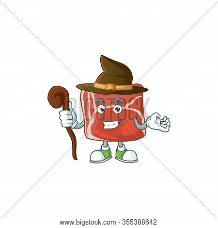 Sweet And Tricky Witch Beef Cartoon Character