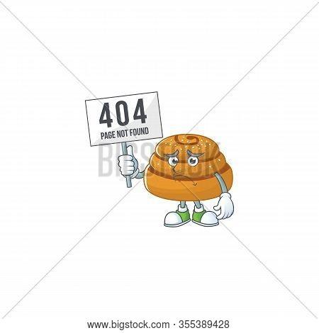 Joyful Cartoon Character Of Kanelbulle Elevate A Board