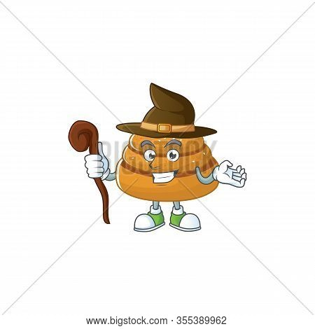 Sweet And Tricky Witch Kanelbulle Cartoon Character