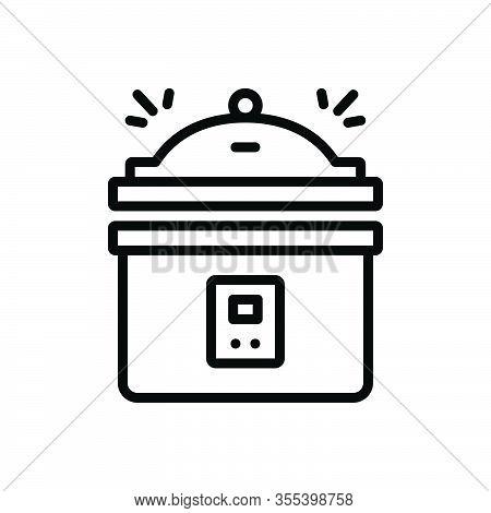 Black Line Icon For Instant-pot-pressure-cooker Instant Pot Pressure Cooker Steamer Cooking Fire Equ