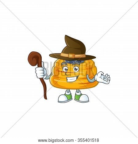 Sweet And Tricky Witch Kataifi Cartoon Character