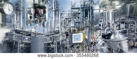 Production Plants Of The Chemical Industry And Pharmaceutical Industry