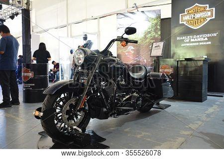 Pasig, Ph - Mar. 7: Harley Davidson 2019 Touring Road King Special Motorcycle At 2nd Ride Ph On Marc