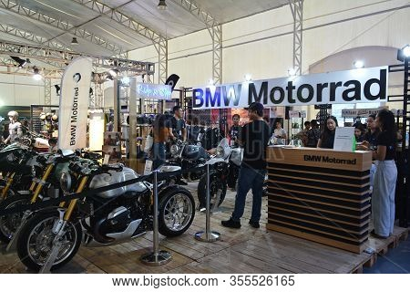 Pasig, Ph - Mar. 7: Bmw Motorrad Booth At 2nd Ride Ph On March 7, 2020 In Pasig, Philippines. Ride P