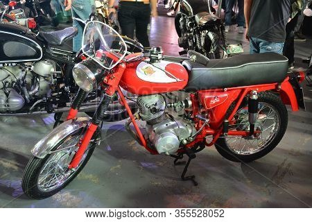 Pasig, Ph - Mar. 7: Ducati Meccanica Motorcycle At 2nd Ride Ph On March 7, 2020 In Pasig, Philippine