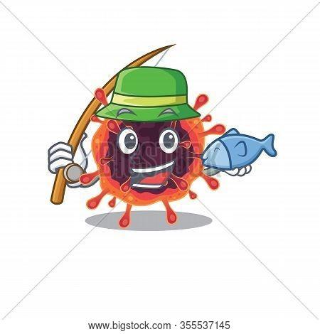 A Picture Of Funny Fishing Corona Virus Zone Design