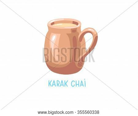 Karak Chai - Traditional Drink Tea With Milk And In The Uae