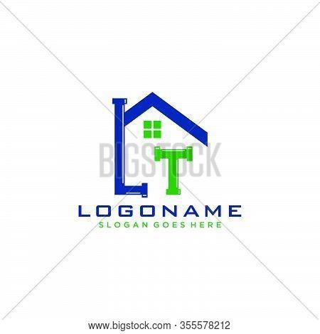 Letter Lt Logo Icon Design Template Elements