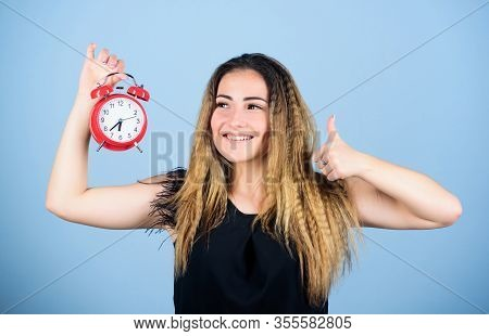 Success. Woman Being Late. Business Deadline. Time Management. Time Zone. Punctuality And Discipline