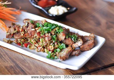 Grilled Pork Or Roasted Pork, Stir Fried Pork