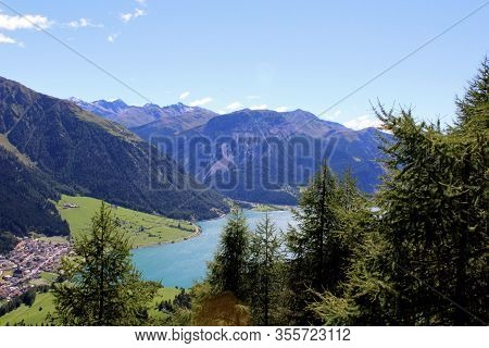 The Beautiful Mountain Landscape Of The Resia Valley Between The Friuli Alps In Italy 008