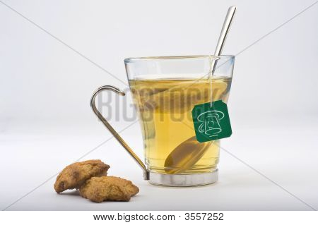 Heat Glass Of Tea