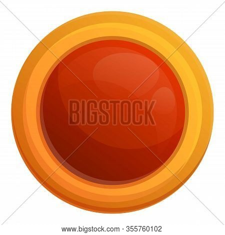Jelly Holiday Biscuit Icon. Cartoon Of Jelly Holiday Biscuit Vector Icon For Web Design Isolated On