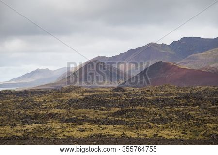 Image Of Beautiful View On Nature Of Iceland.