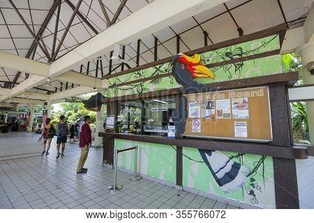 Kl Bird Park, One Of Popular Tourist Attractions