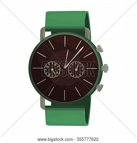 Watch Wrist Vector Icon.cartoon Vector Icon Isolated On White Background Watch Wrist.