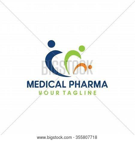 Medical Pharma Logo Care And Medical, Apothecary