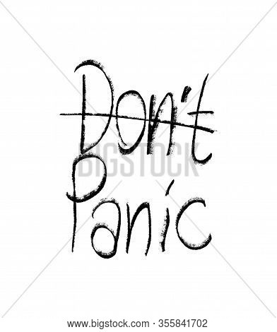 Do Not Panic Typo Letters