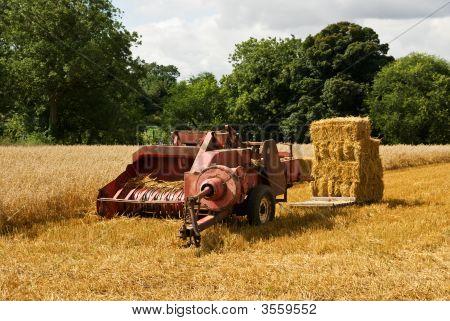 A Retro Piece Of Farm Machinery