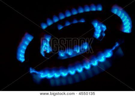 Quemador de gas de combustión