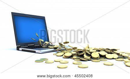 Internet Money - Gold Coins