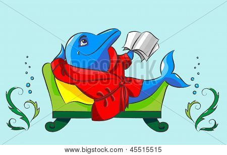 Dolphin And Sofa