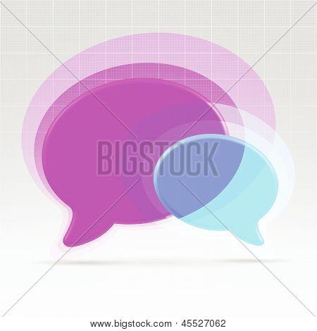Balloons Communication Concept