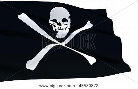 Pirates Flag Waving