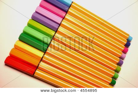 Colourful Pens