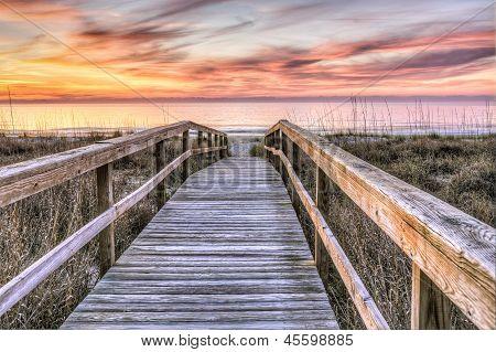 Boardwalk to Sunrise