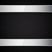 Carbon fiber texture. EPS10 vector. See my other works in portfolio. poster